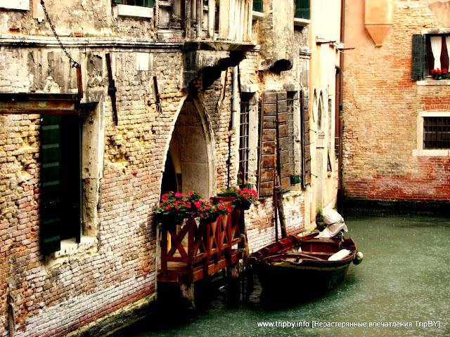 Венеция. Канал. Лодка. Дом by TripBY