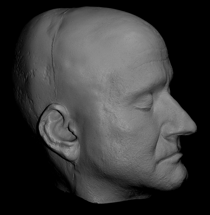 Face Casts from Haunte...