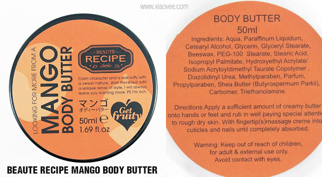 COPIA Indonesia, Beaute Recipe Fruit Body Butter Set Review, Japanese Coconut Body Butter, Japanese Mango Body Butter, Japanese Lemon Body Butter, Japanese Fruit Body Butter, Best Japanese Body Butter