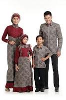 Batik sarimbit keluarga