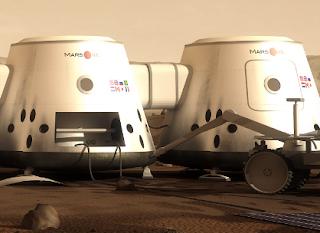 Mars One Reality TV on Mars 2022