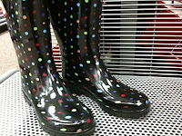 Rain Boots Polka Dots3