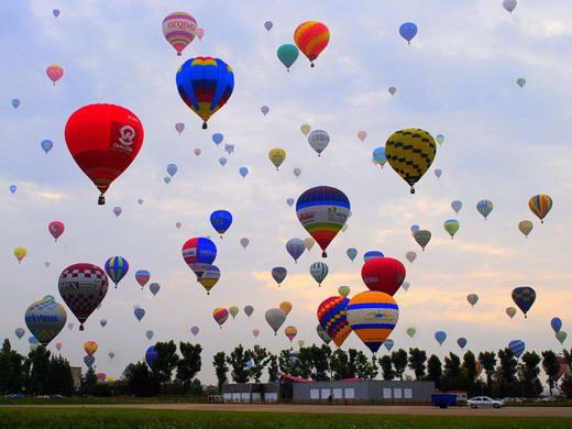 Rekor Dunia, Festival Balon Udara Terbanyak
