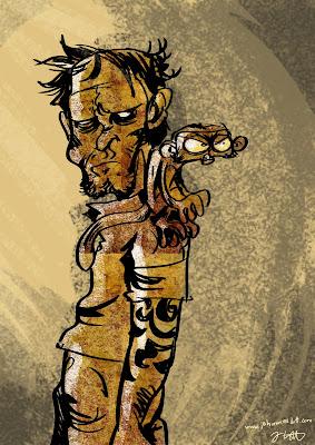 lott jo johannes zeichnung comic affe ravensburg stuttgart dhbw illustration art kunst design