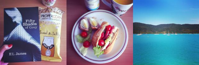 Fifty shades of grey, Lunch, Sandwich, Scotch egg, Whitsunday, Australia