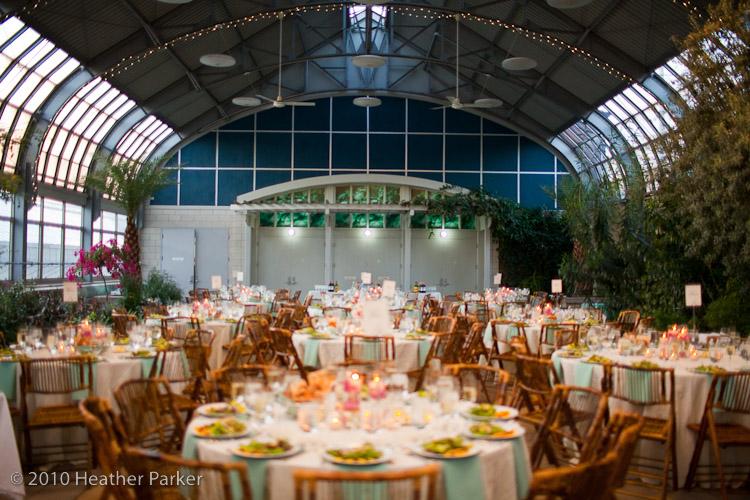 Smart park wedding