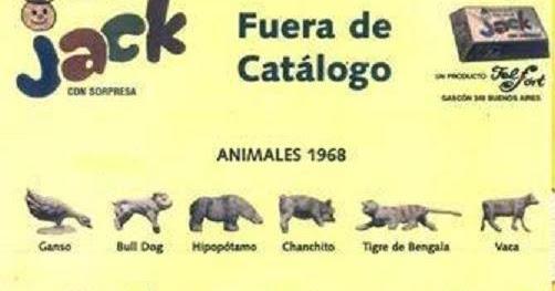 Fan ticos del jack colecci n jack 1970 parte iv los for Animales fuera de serie