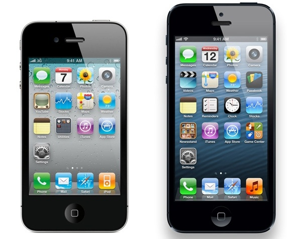 iphone5 and iphone4