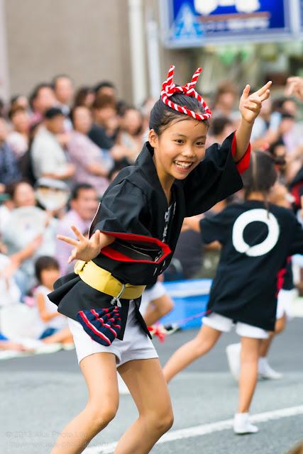 高円寺阿波踊り 阿波踊り連 たまきの子供の素手踊り