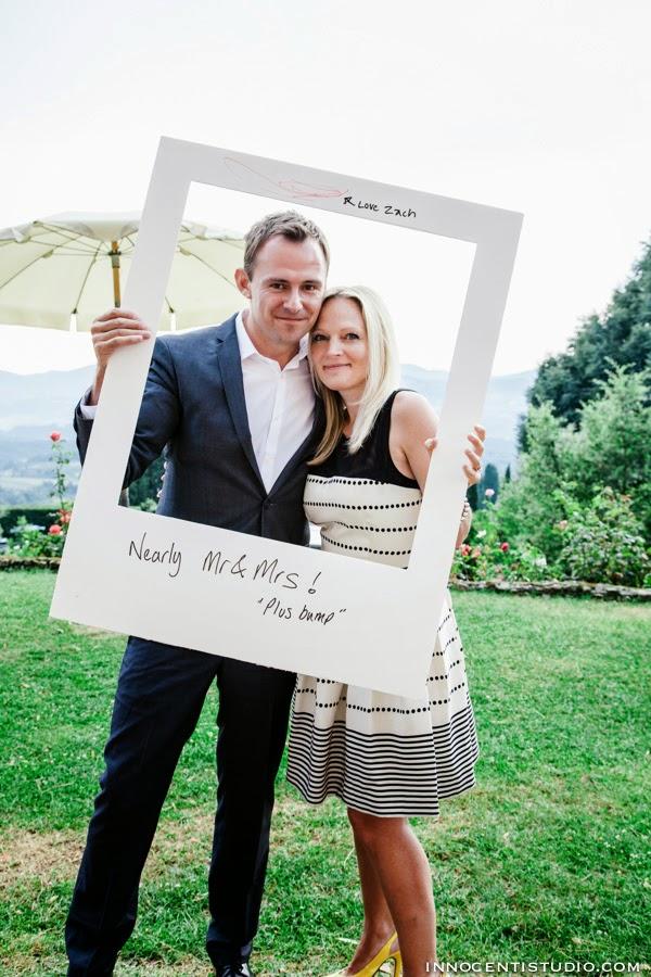 Innocenti Wedding Photographer Tuscany: Giant Polaroid Photo Booth ...