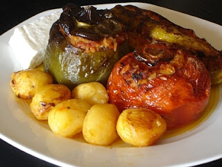 Stuffed Vegetables (Gemista) Recipe