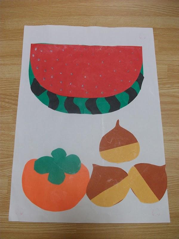fruit paper craft preschool crafts for kids