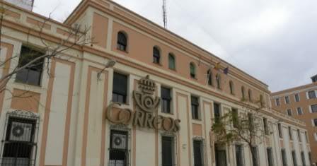 Memorias onubenses lxxxvii el edificio de correos for Oficina de correos huelva