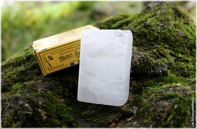 Bloc Hyalin, le haut de gamme de la pierre d'alun - Féret Parfumeur - Les Mousquetettes©