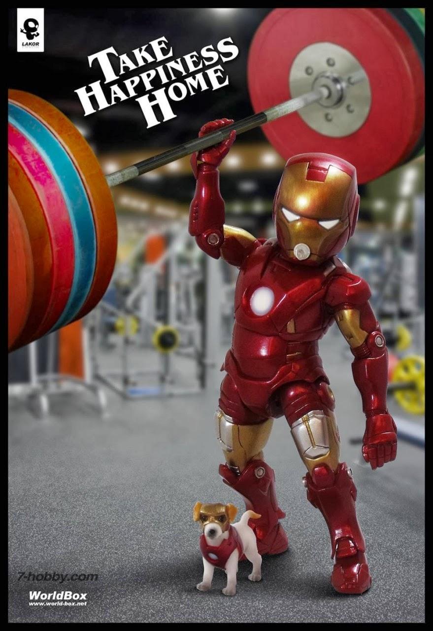 movietoysg  lakor baby vs iron baby