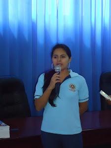 Presidenta del curso de nivelación
