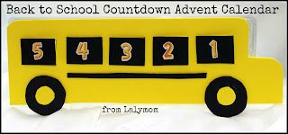 Back to School Traditions Countdown Advent Calendar Using Egg Carton from Lalymom