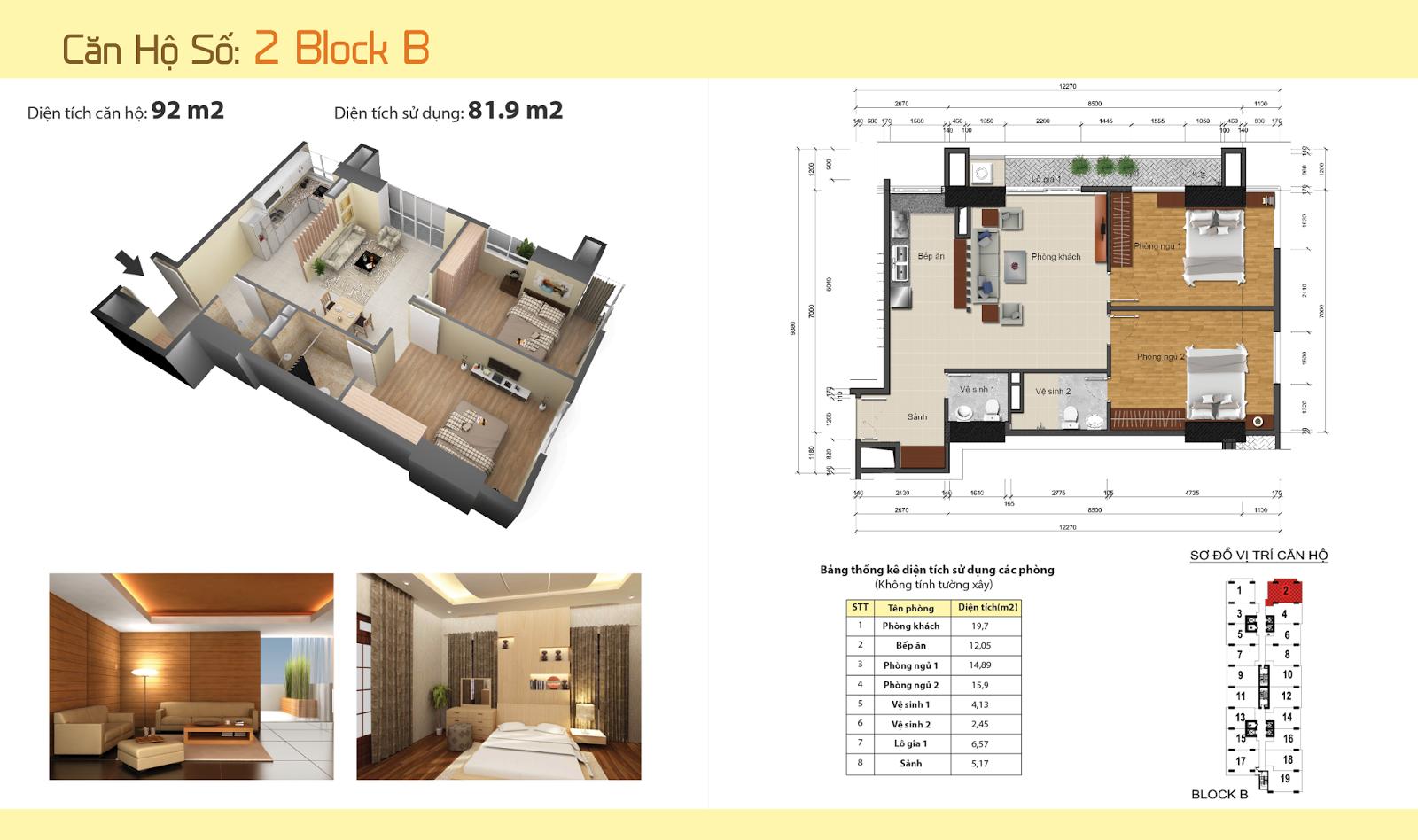 Thiết kế nội thất chung cư Gemek Tower 31