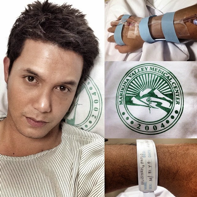 Paolo Ballesteros, hospitalized due to use of Bangkok Pills?