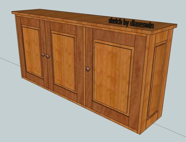 Perabot Kayu Sederhana / Simply Wood Furniture