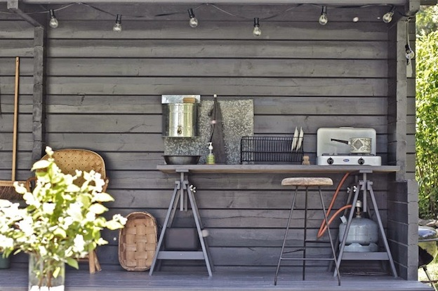 My scandinavian home an idyllic finnish cottage with an for Outdoor summer kitchen