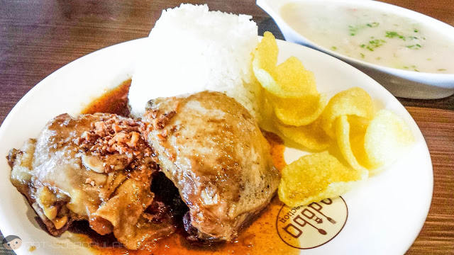 Mama's Sweet Chicken Adobo at P99 and Sopas at P19