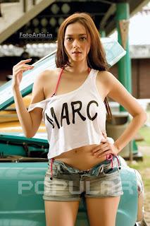Foto - Foto Terbaru Aura Kasih Di Majalah Popular