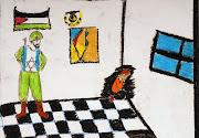 Algunos dibujos de niños y jóvenes del Taller de Montevideo