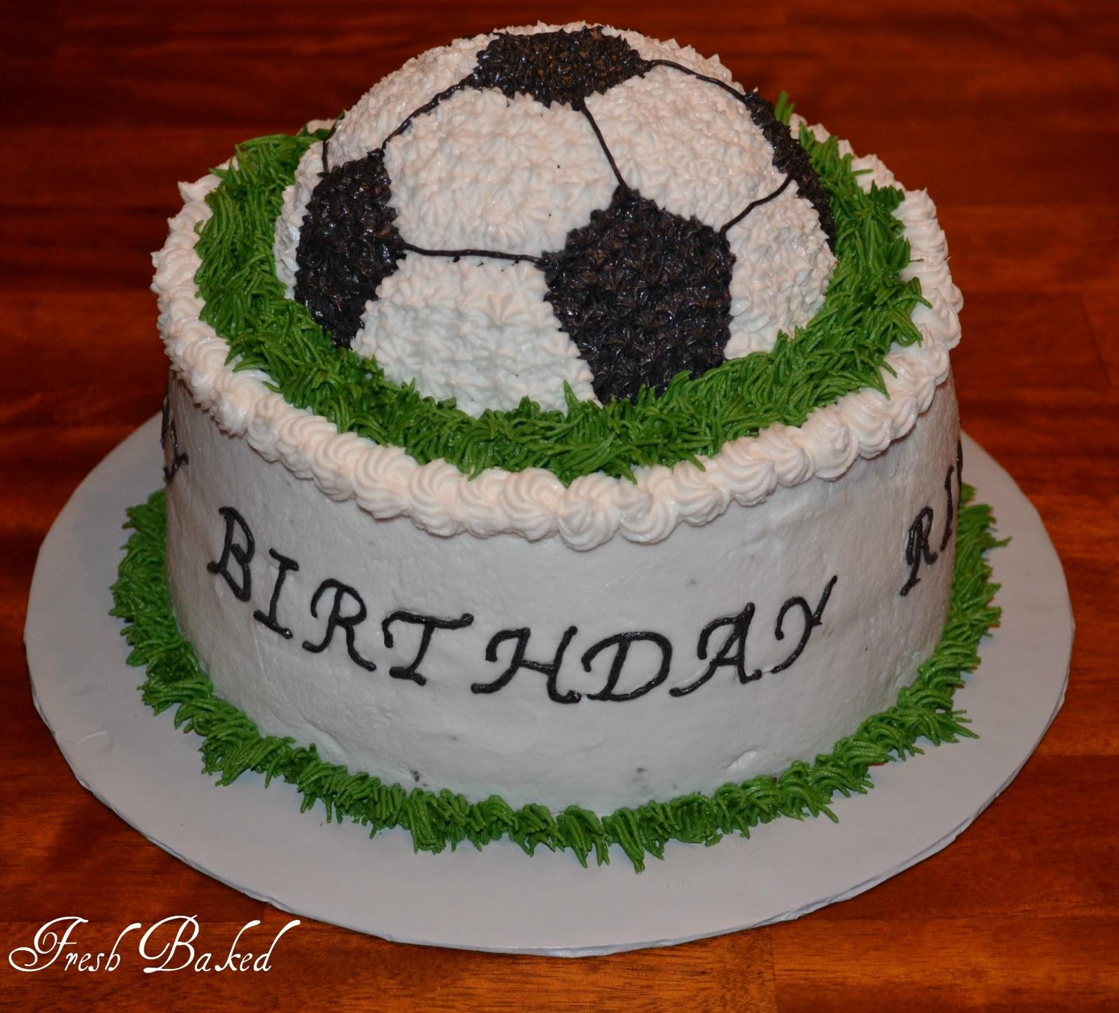 Soccer Cake: Fresh Baked By Jamie: Cakes