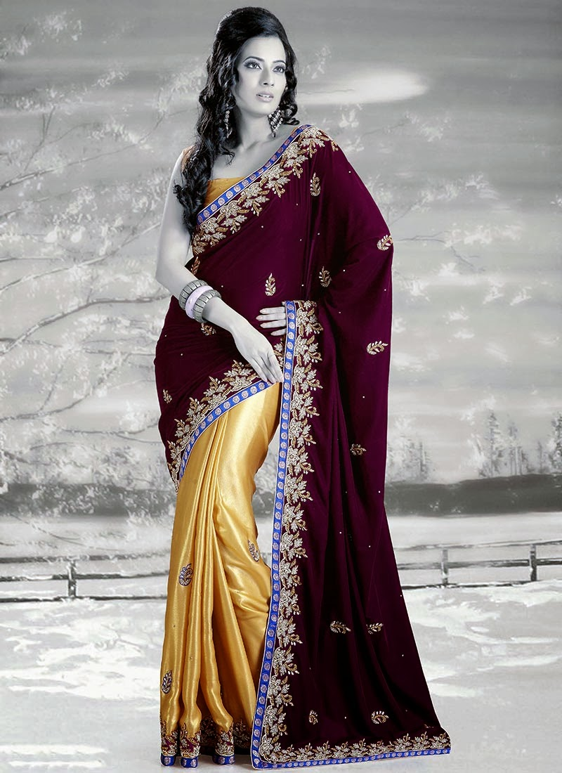 Wedding Party Wear Sarees Collection Latest Fashion Today