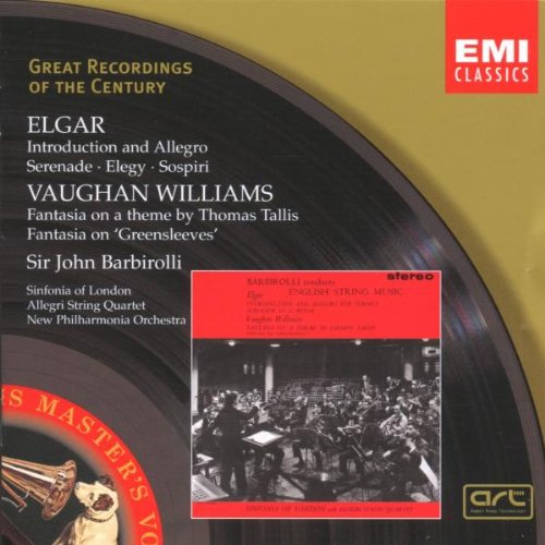 Ralph Vaughan Williams Tallis Fantasia John Barbirolli Sinfonia of London