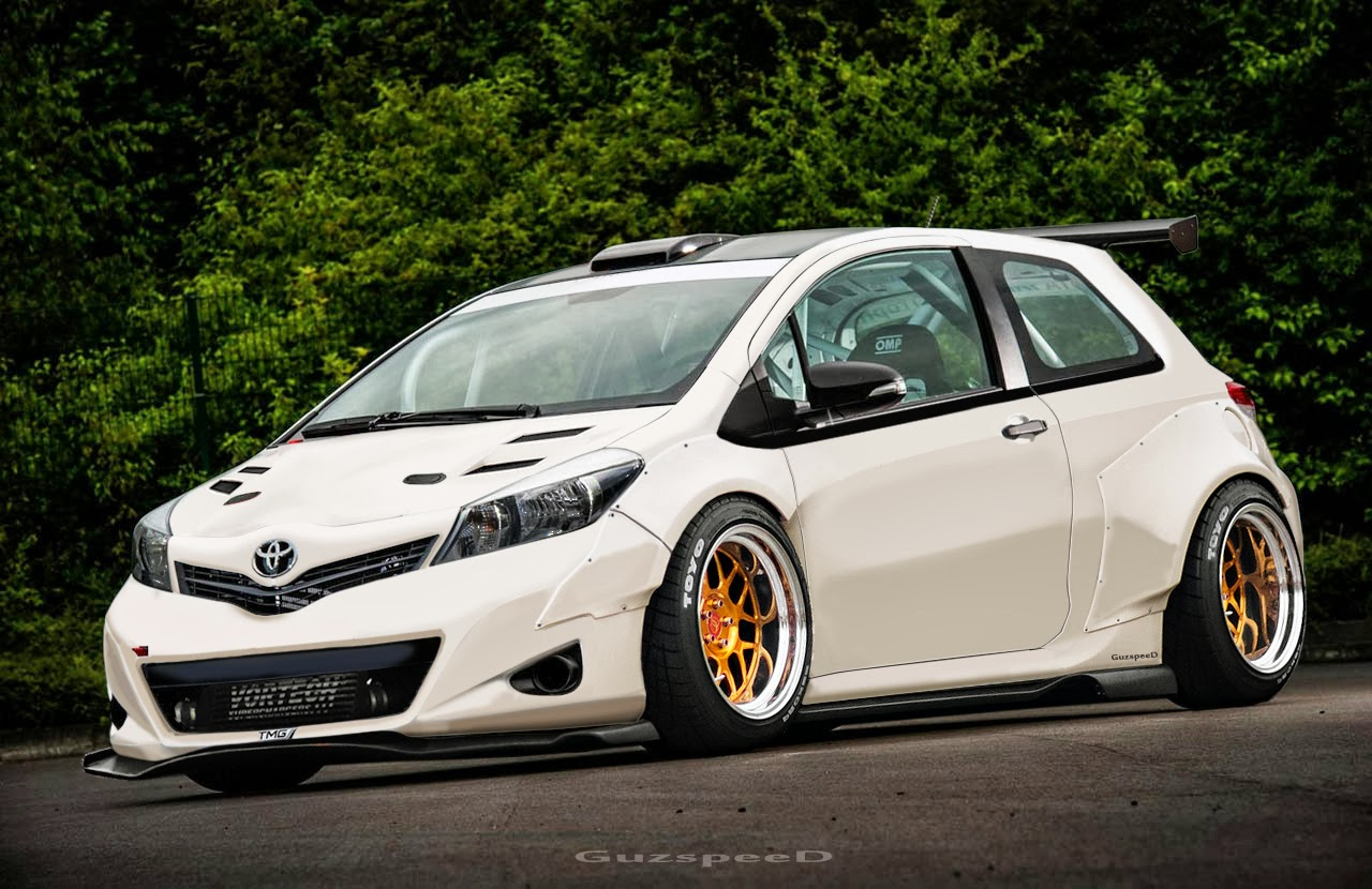 All New Toyota Yaris Modification Modifinspirasi