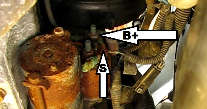 the original mechanic how to replace the starter on a gm 2 2l Ford Starter Wiring Diagram the original mechanic how to replace the starter on a gm 2 2l ecotec engine in cobalt, cavalier, hhr, malibu and more