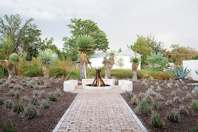 Barbara Hill Marfa Texas Dwell magazine fire pit