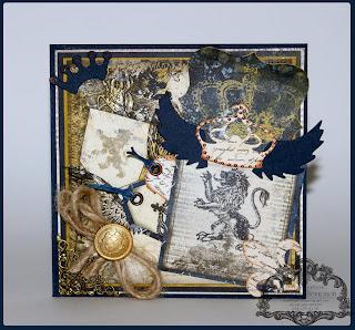 рыцарская открытка