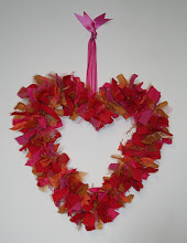 Recycled Rag Heart