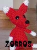 ZORRO, FOX, AMIGURUMI