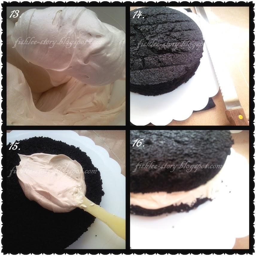 Mile-High Chocolate Cake With Vanilla Buttercream Recipes — Dishmaps