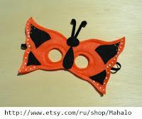 Карнавальные детские маски своими руками из фетра
