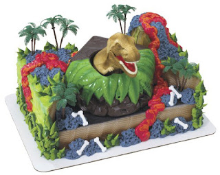 Amazing Dinosaurs Birthday Cake