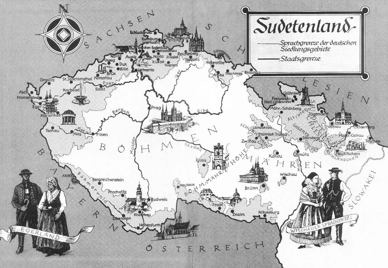 photo3 a period mapping of the sudetenland area source unknown