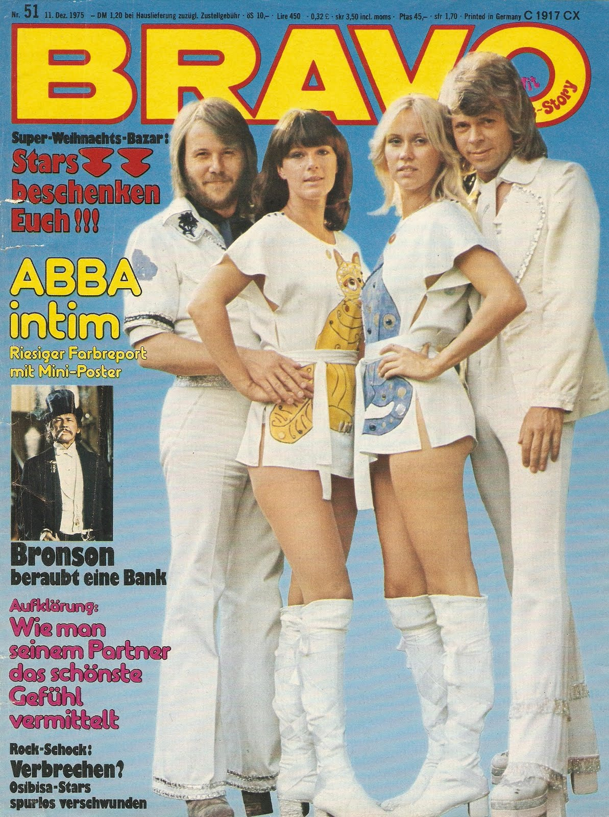 ABBA The Articles: Bravo, 1975: Everything about the currently most popular group in the world: ABBA