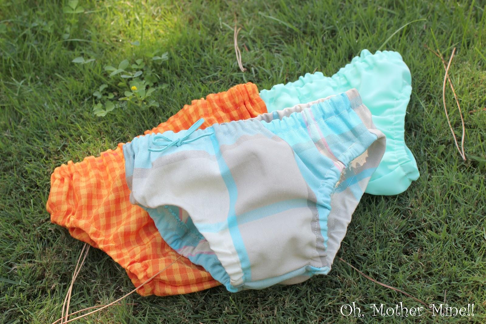 Tutorial: Cubre pañales para bebés DIY.     Oh, Mother Mine DIY!!