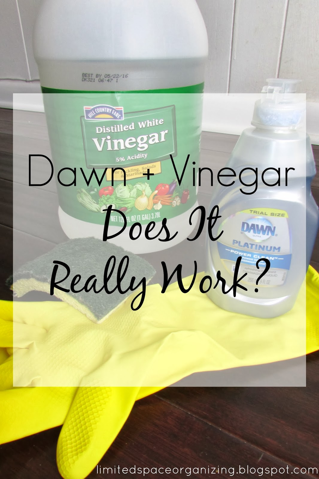 how to clean bathroom with vinegar and dawn