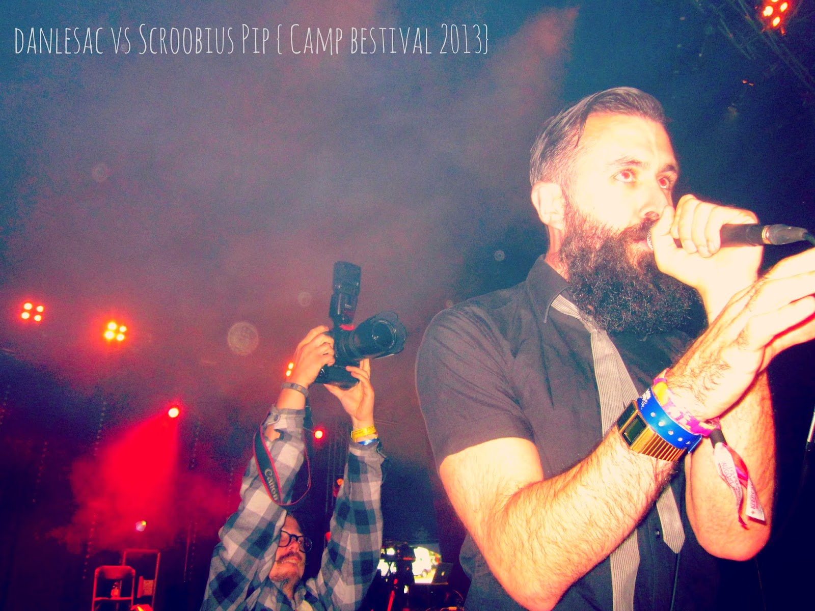 dan le sac vs Scroobius Pip - Camp Bestival 2013 // 76sunflowers