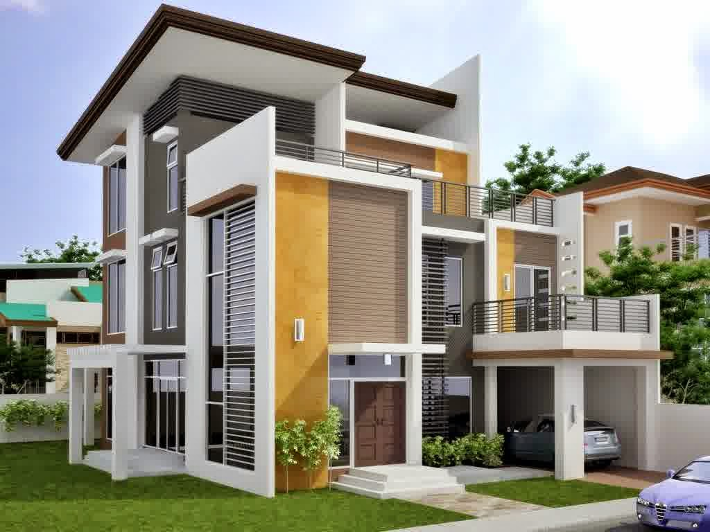 Contoh Desain Rumah Minimalis 1 Dan 2 Lantai