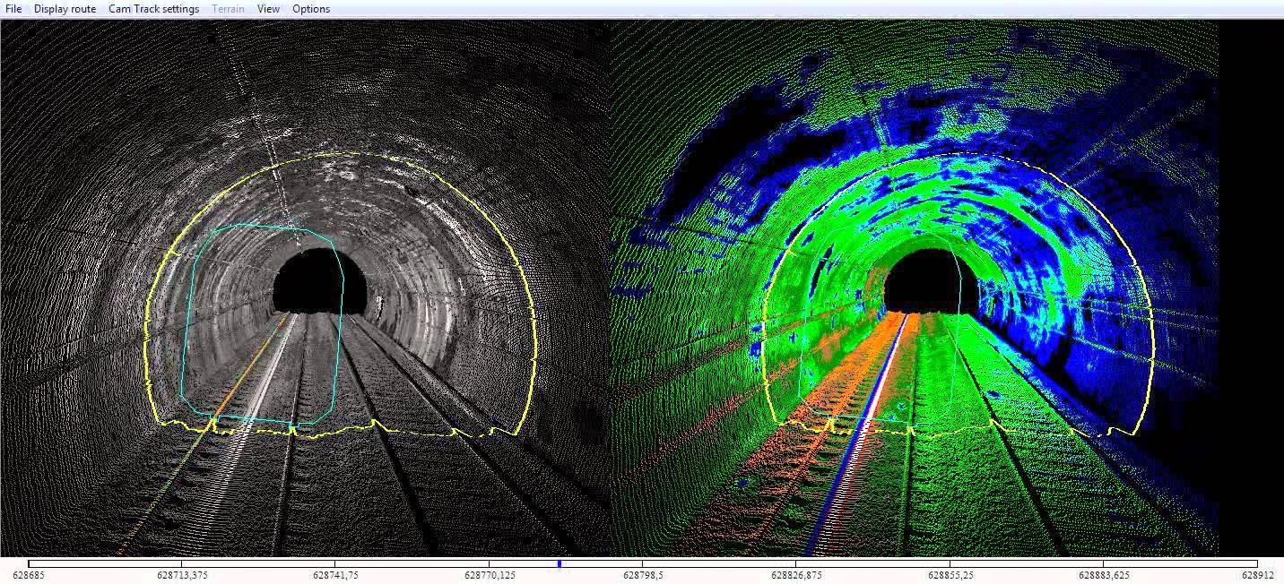 laser escaner túneles