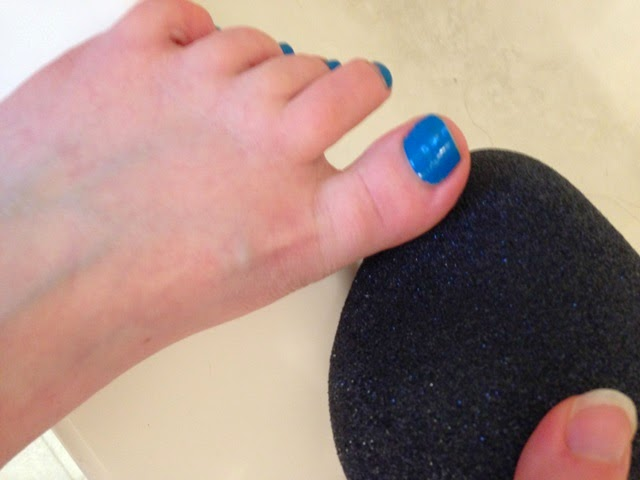 using the profoot pedi rock