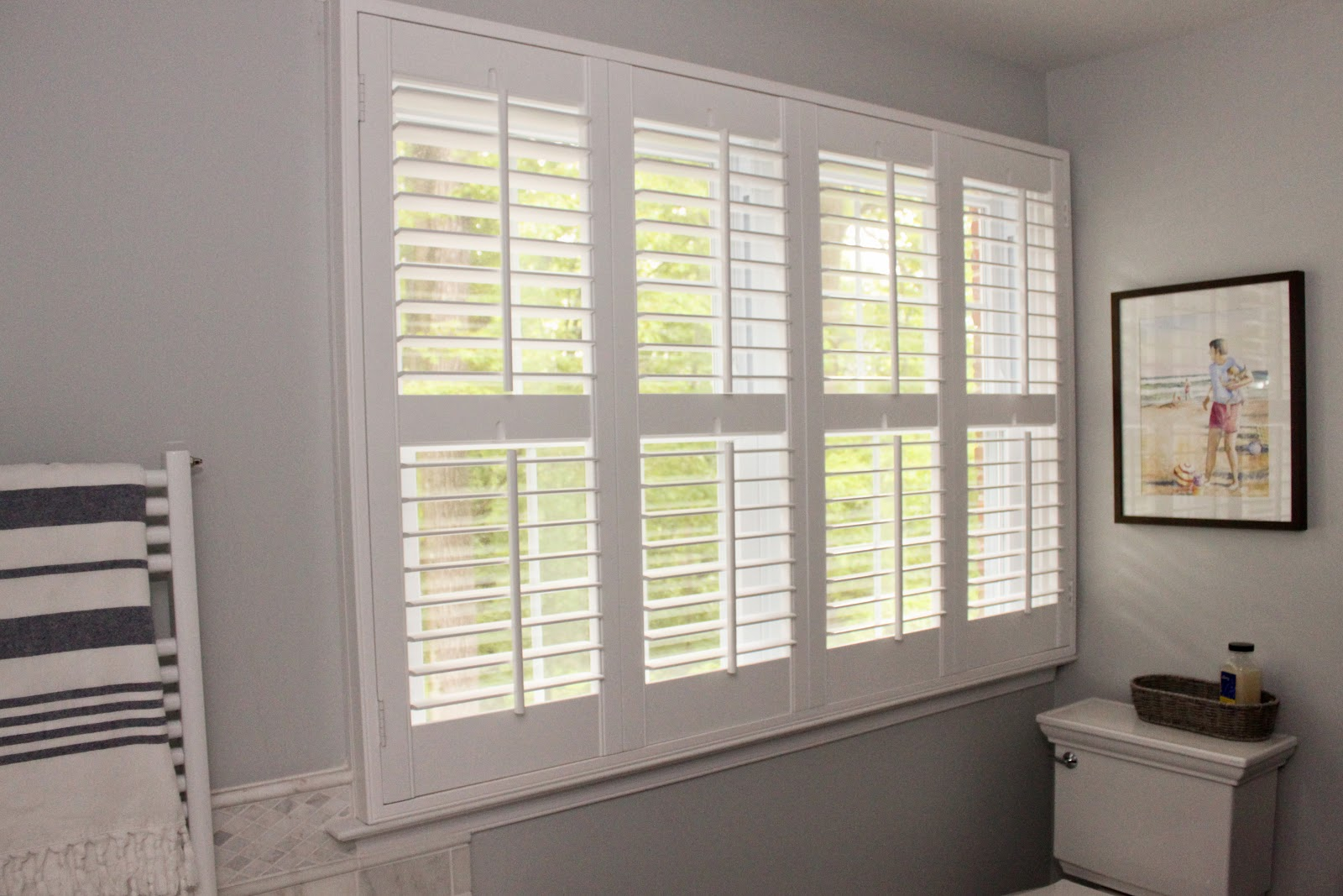 Meg the martin men plantation shutters for Window shutters