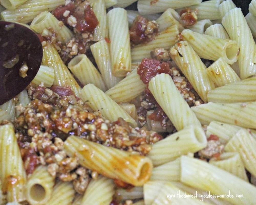 Domestic Goddess Wannabe: pasta alla marlboro man